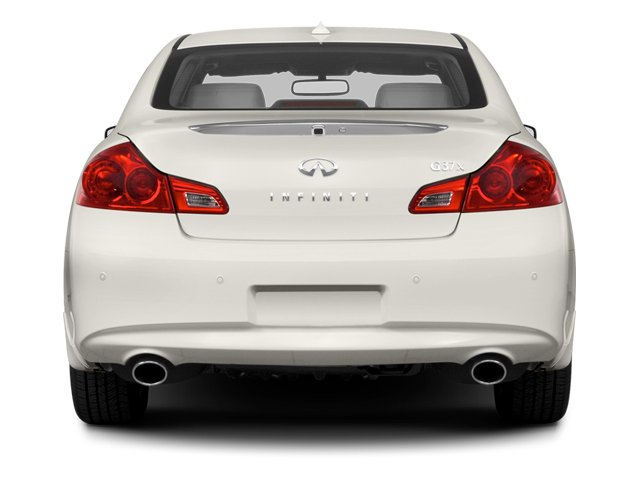 2013 INFINITI G37 Sedan Pictures G37 Sedan 4D V6 photos rear view