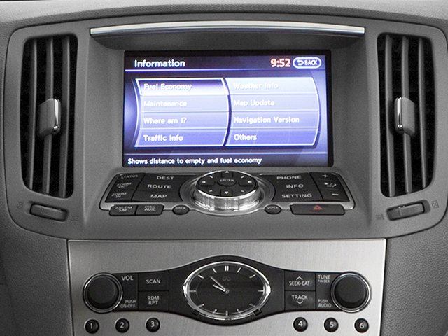 2013 INFINITI G37 Sedan Pictures G37 Sedan 4D V6 photos navigation system
