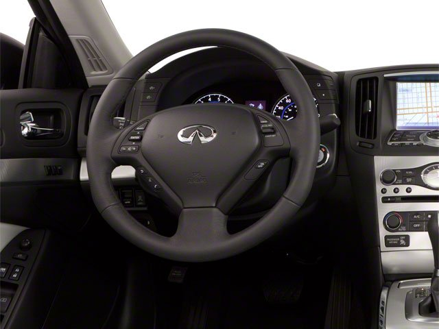 2013 INFINITI G37 Convertible Prices and Values Convertible 2D IPL V6 driver's dashboard