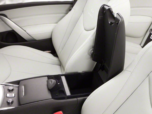 2013 INFINITI G37 Convertible Prices and Values Convertible 2D V6 center storage console