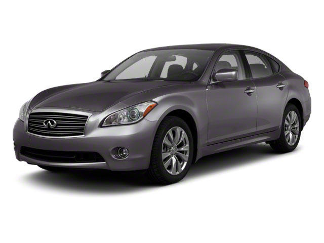 2013 INFINITI M56 Pictures M56 Sedan 4D x AWD V8 photos side front view
