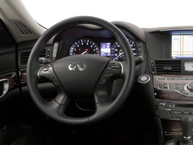 2013 INFINITI M56 Pictures M56 Sedan 4D x AWD V8 photos driver's dashboard