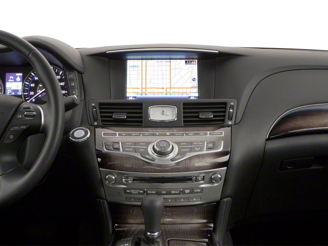 2013 INFINITI M56 Pictures M56 Sedan 4D x AWD V8 photos center dashboard