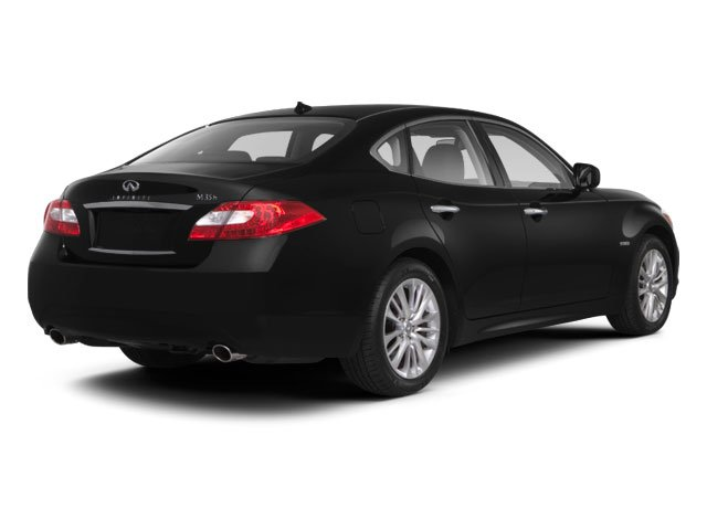 2013 INFINITI M35h Pictures M35h Sedan 4D V6 Hybrid photos side rear view