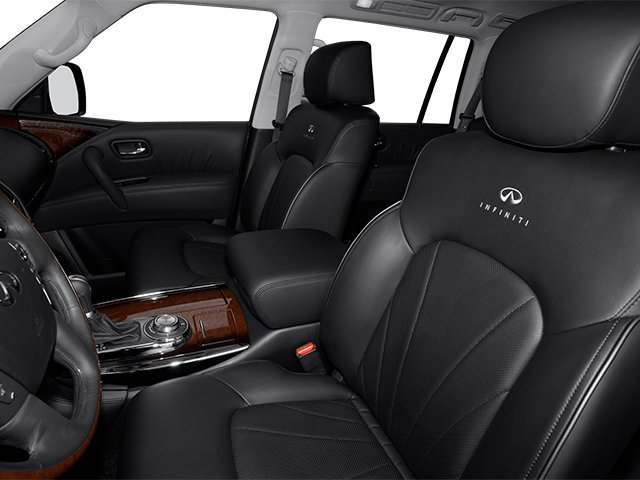 2013 INFINITI QX56 Prices and Values Utility 4D 2WD front seat interior