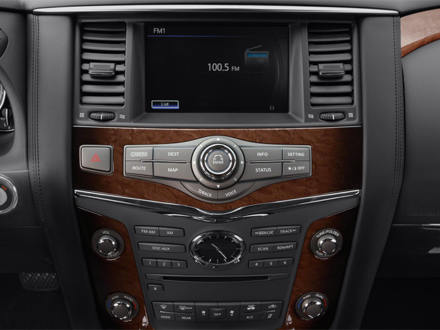 2013 INFINITI QX56 Prices and Values Utility 4D 4WD stereo system