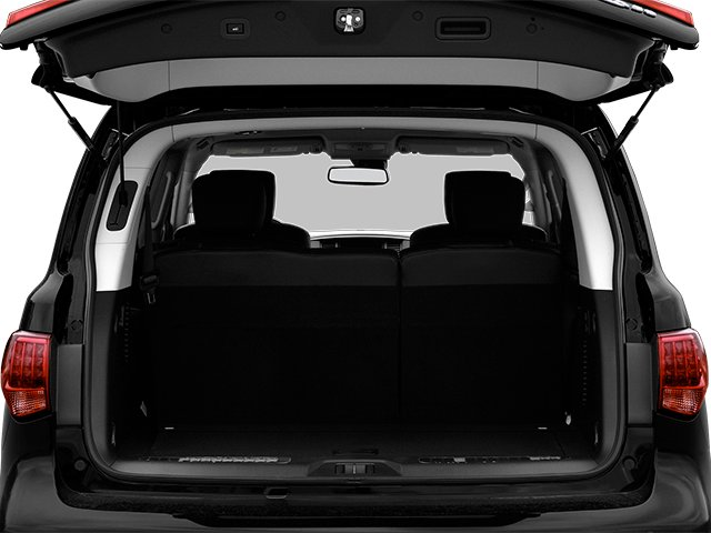 2013 INFINITI QX56 Prices and Values Utility 4D 4WD open trunk