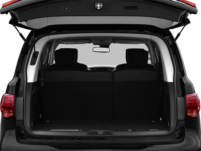 2013 INFINITI QX56 Prices and Values Utility 4D 2WD open trunk