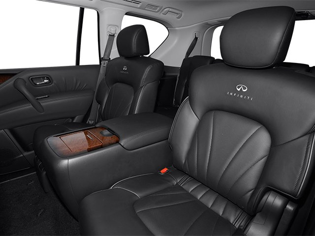 2013 INFINITI QX56 Pictures QX56 Utility 4D 4WD photos backseat interior