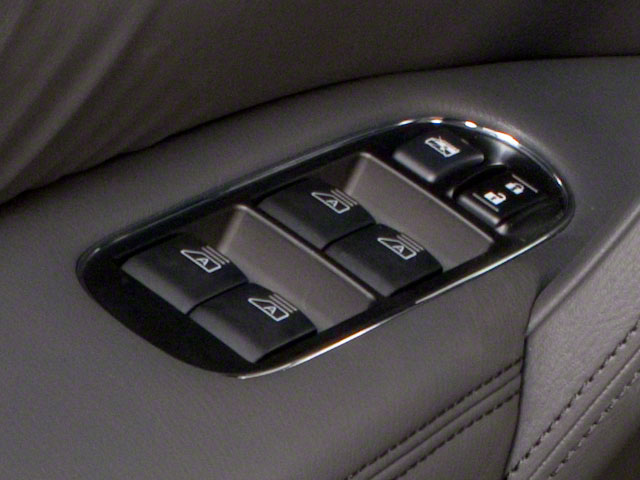2013 INFINITI QX56 Prices and Values Utility 4D 4WD driver's side interior controls