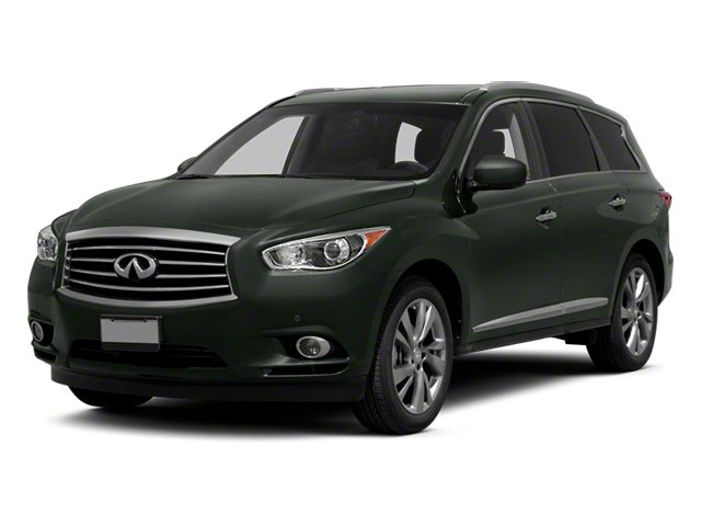 2013 INFINITI JX35 Prices and Values Utility 4D AWD side front view
