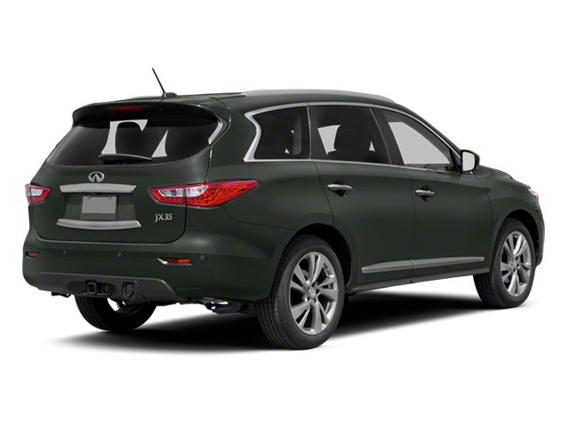 2013 INFINITI JX35 Prices and Values Utility 4D AWD side rear view