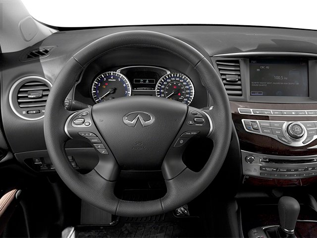 2013 INFINITI JX35 Prices and Values Utility 4D AWD driver's dashboard