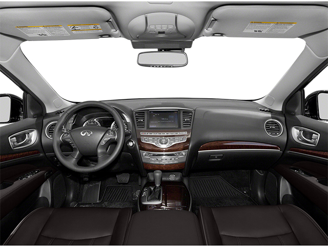 2013 INFINITI JX35 Prices and Values Utility 4D 2WD full dashboard