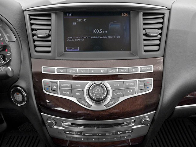 2013 INFINITI JX35 Prices and Values Utility 4D 2WD stereo system