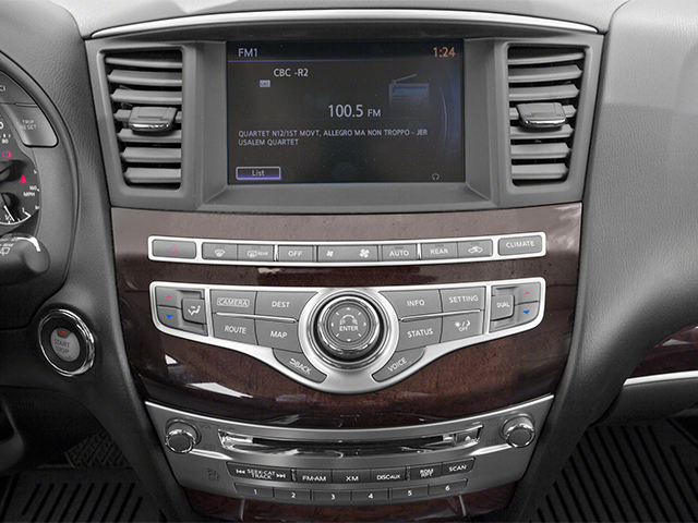 2013 INFINITI JX35 Prices and Values Utility 4D AWD stereo system
