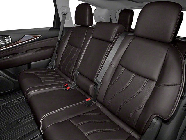 2013 INFINITI JX35 Prices and Values Utility 4D AWD backseat interior