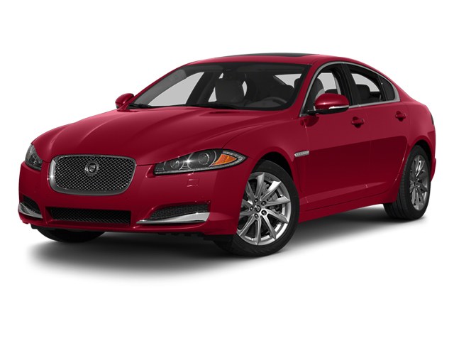 2013 Jaguar XF Prices and Values Sedan 4D Portfolio Supercharged side front view