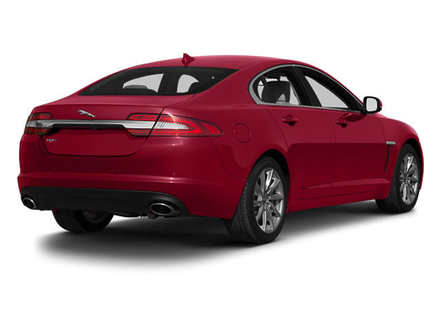 2013 Jaguar XF Prices and Values Sedan 4D Portfolio Supercharged side rear view