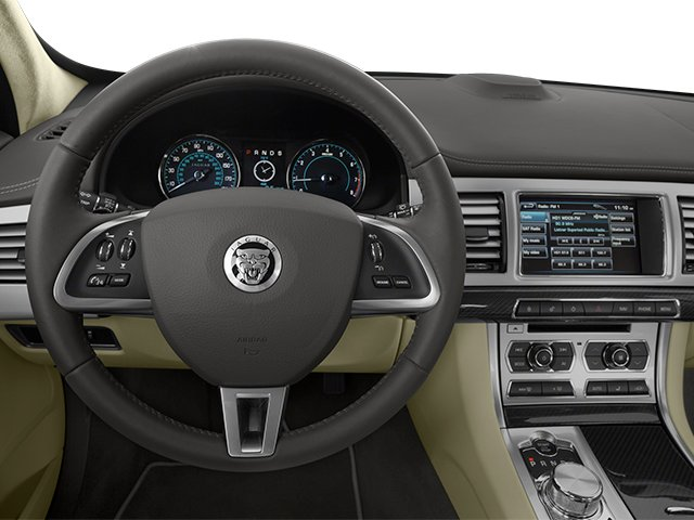 2013 Jaguar XF Prices and Values Sedan 4D Portfolio Supercharged driver's dashboard