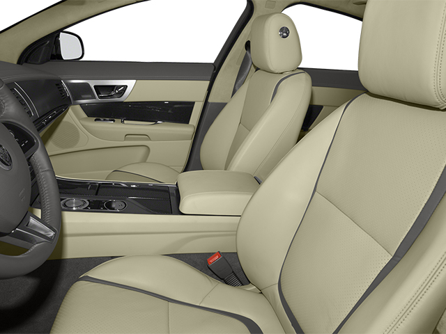 2013 Jaguar XF Prices and Values Sedan 4D Portfolio Supercharged front seat interior