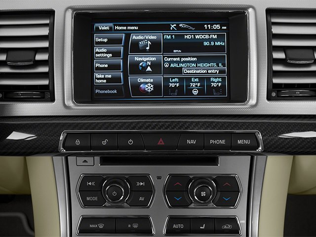 2013 Jaguar XF Prices and Values Sedan 4D Portfolio Supercharged stereo system