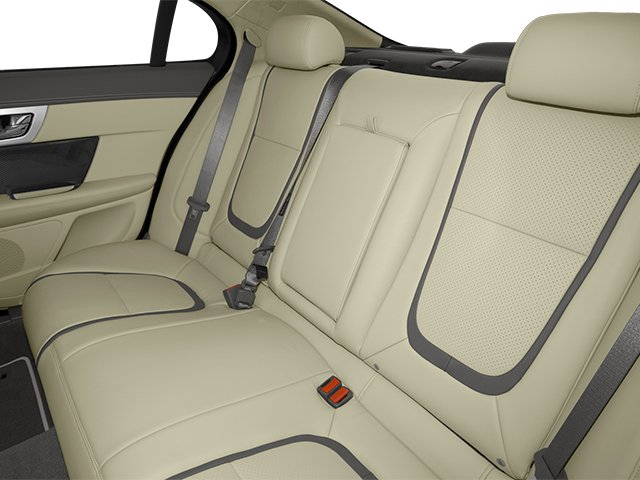 2013 Jaguar XF Prices and Values Sedan 4D Portfolio Supercharged backseat interior