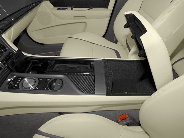 2013 Jaguar XF Prices and Values Sedan 4D Portfolio Supercharged center storage console