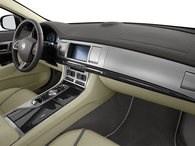 2013 Jaguar XF Prices and Values Sedan 4D Portfolio Supercharged passenger's dashboard