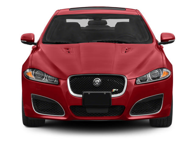 2013 Jaguar XF Pictures XF Sedan 4D XFR V8 Supercharged photos front view
