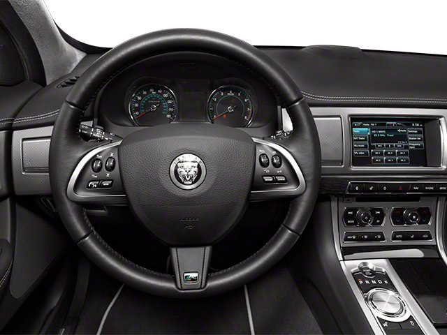 2013 Jaguar XF Pictures XF Sedan 4D XFR V8 Supercharged photos driver's dashboard