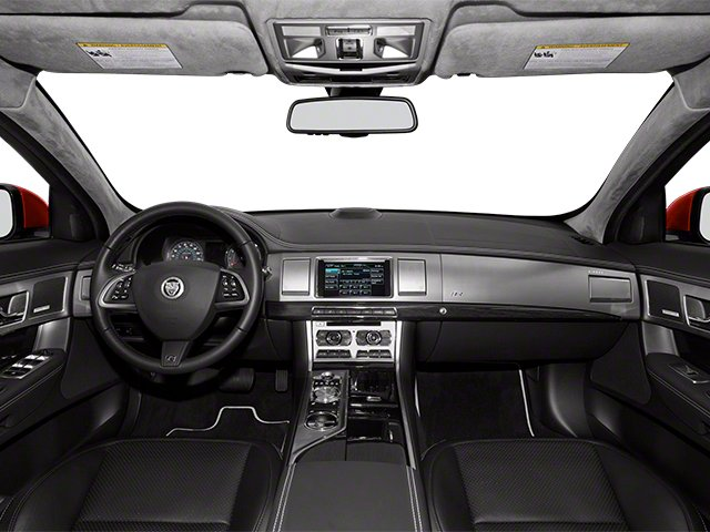 2013 Jaguar XF Pictures XF Sedan 4D XFR V8 Supercharged photos full dashboard