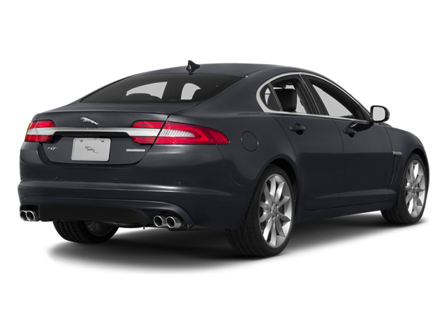 2013 Jaguar XF Prices and Values Sedan 4D V8 Supercharged side rear view
