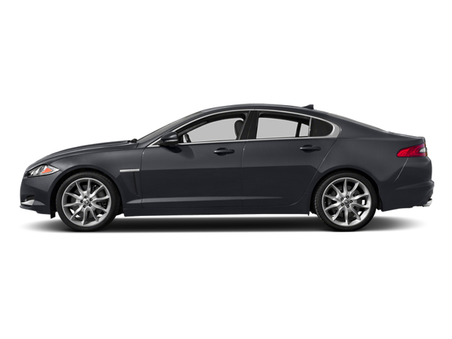 2013 Jaguar XF Prices and Values Sedan 4D V8 Supercharged side view