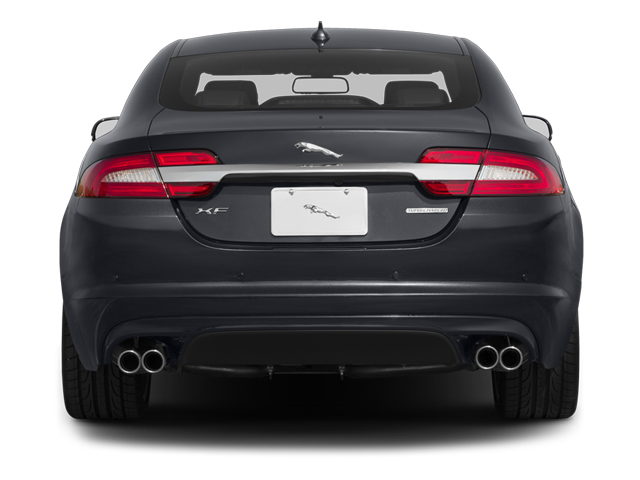 2013 Jaguar XF Prices and Values Sedan 4D V8 Supercharged rear view