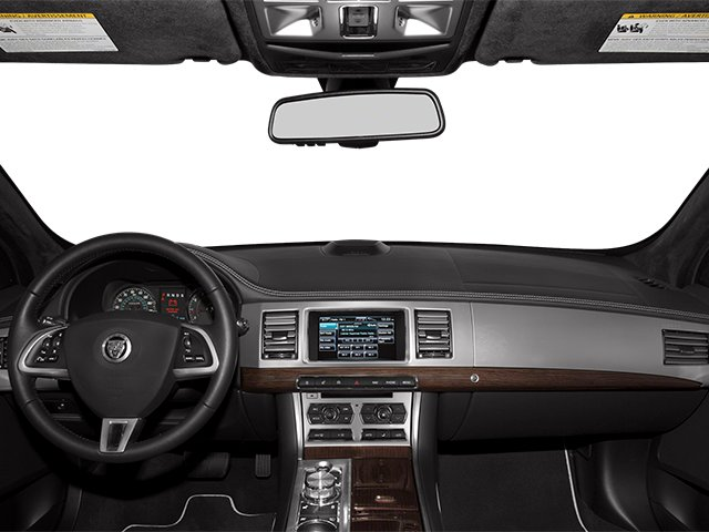 2013 Jaguar XF Prices and Values Sedan 4D V8 Supercharged full dashboard