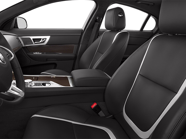 2013 Jaguar XF Prices and Values Sedan 4D V8 Supercharged front seat interior