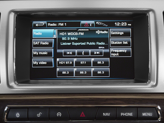 2013 Jaguar XF Prices and Values Sedan 4D V8 Supercharged stereo system
