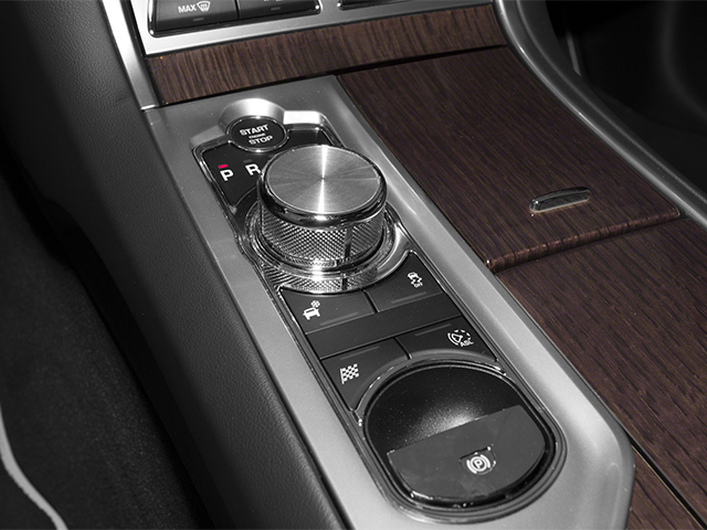 2013 Jaguar XF Prices and Values Sedan 4D V8 Supercharged center console
