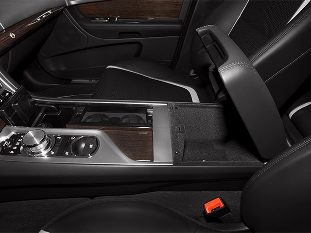 2013 Jaguar XF Prices and Values Sedan 4D V8 Supercharged center storage console