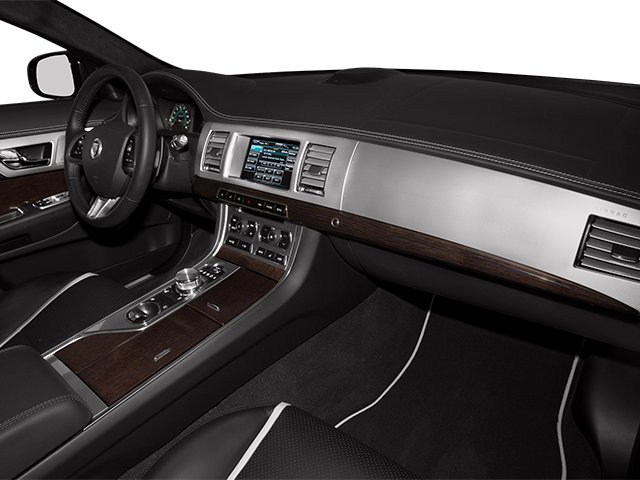 2013 Jaguar XF Prices and Values Sedan 4D V8 Supercharged passenger's dashboard