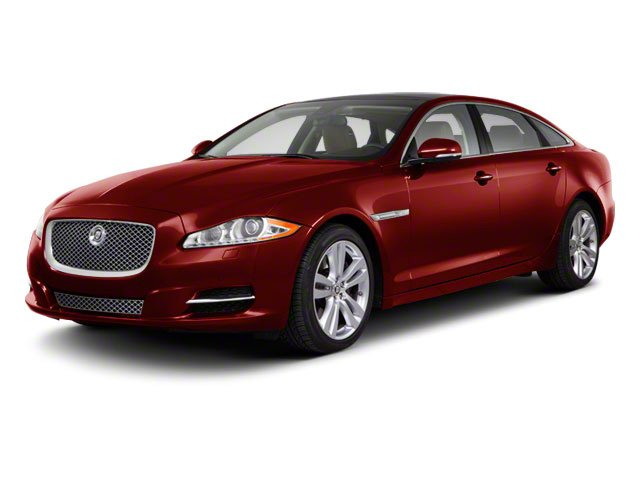 2013 Jaguar XJ Prices and Values Sedan 4D AWD V6 side front view