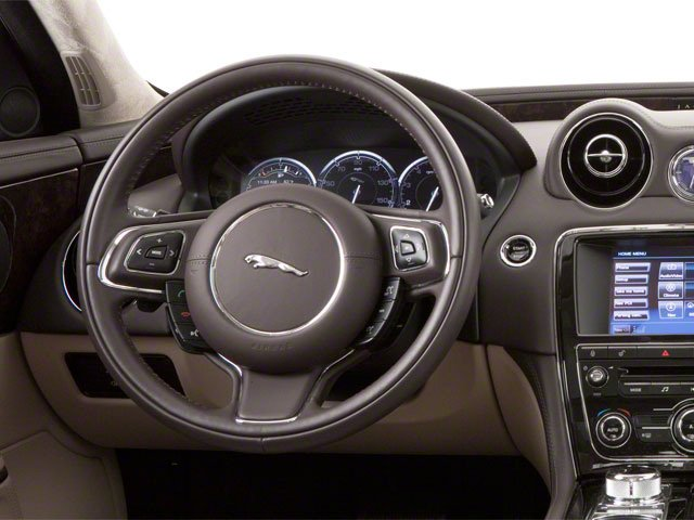 2013 Jaguar XJ Prices and Values Sedan 4D AWD V6 driver's dashboard