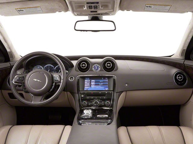 2013 Jaguar XJ Prices and Values Sedan 4D AWD V6 full dashboard