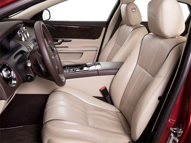 2013 Jaguar XJ Prices and Values Sedan 4D AWD V6 front seat interior