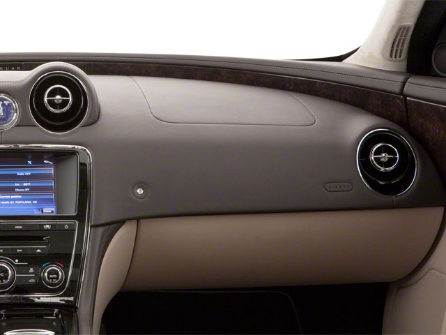 2013 Jaguar XJ Prices and Values Sedan 4D AWD V6 passenger's dashboard