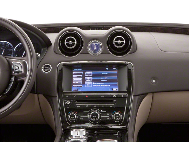 2013 Jaguar XJ Prices and Values Sedan 4D AWD V6 center dashboard