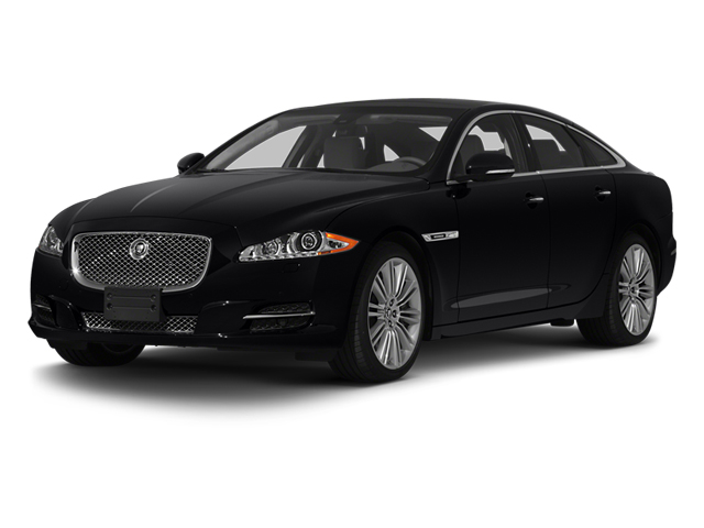 2013 Jaguar XJ Prices and Values Sedan 4D Supersport V8 side front view