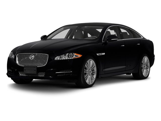 2013 Jaguar XJ Pictures XJ Sedan 4D Speed V8 Supercharged photos side front view