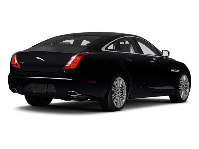 2013 Jaguar XJ Pictures XJ Sedan 4D Speed V8 Supercharged photos side rear view